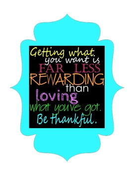 Motivational Poster: Getting What You Want