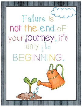 Motivational Posters-Growth Mindset