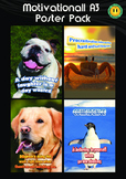 Motivational Posters - High Quality A3 Size