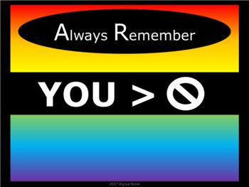 Motivational Posters - Noah's Rainbow - Horizontal