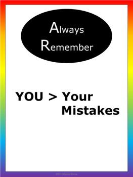 Motivational Posters - Noah's Rainbow - Vertical