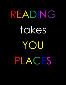 Motivational Posters - Reading Takes you Places