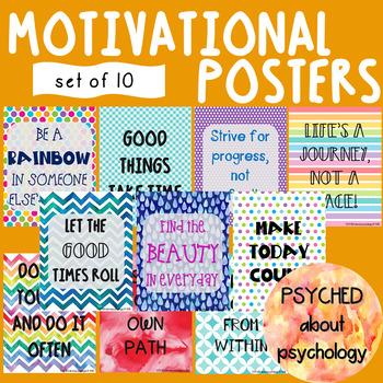 Motivational Posters, Set 4