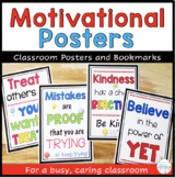 Motivational Posters and Bookmarks for Back to School