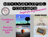 Motivational Posters for Any Classroom!