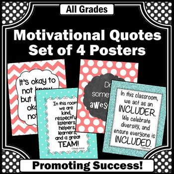 Team Building Posters INCLUSION Teamwork Themed Classroom 8x10 or 16x20