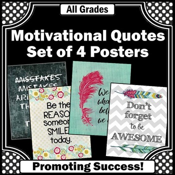 Feathers Motivational Quotes Inspirational Posters 8x10 or 16x20