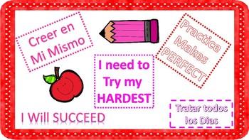 Motivational Posters for ELLs