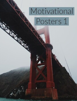 Motivational Posters for Students