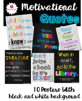 Motivational Posters for the Classroom