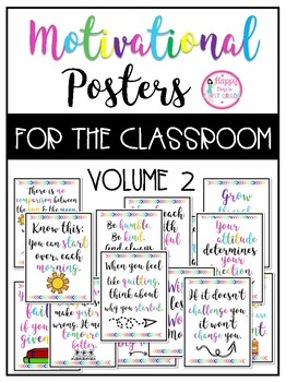 Motivational Posters for the Classroom (Volume 2)