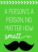 Motivational Mustache Posters with Dr. Seuss Quotes (Black and Neon)