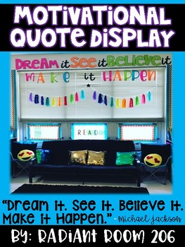 Motivational Quote Display