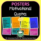 Motivational Quote Posters Brights x 50 - Great Range of Motivational Quotes