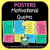 Motivational Quote Posters Triangles x 50 - Great Range of Inspiring Quotes