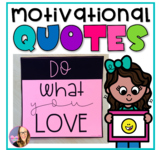 Motivational Quote Posters for Classroom Decor