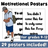CBT Inspired Motivational Quote Posters for Test Week