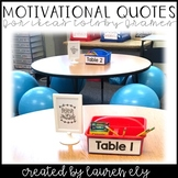 Motivational Quote Signs for IKEA's Tolsby Frames - Classroom Decor