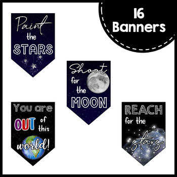 Motivational Quotes Banners Posters