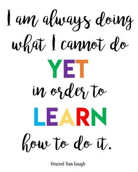 Motivational Quotes Bundle: Classroom Decor