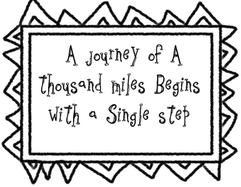 Motivational Quotes Coloring Sheets