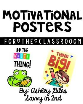 Motivational Quotes (Posters)