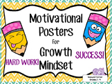 Motivational Quotes Posters for Growth Mindset Activities - Responsibility