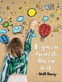 Motivational Quotes (Printable Posters) for Classrooms - Series 1