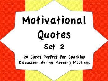 Motivational Quotes Set 2