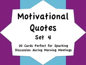 Motivational Quotes Set 4