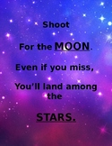 Motivational Quotes Space Theme