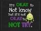Motivational Quotes (Subway Art)