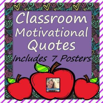 Motivational Quotes for Classrooms