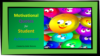 Motivational Quotes for Student Achievement