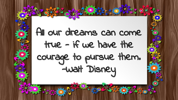 Motivational Quotes for Upper Elementary and Middle School Students!