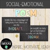 Motivational Back to School Poem