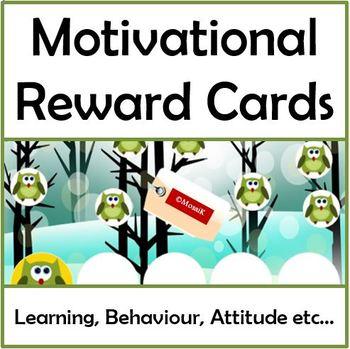 Motivational Reward Cards - Growing Bundle