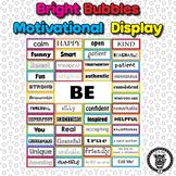 Motivational Self-Esteem Building Door & Bulletin Board - Bright Bubbles