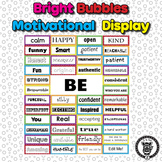 Motivational Self-Esteem Building Door & Bulletin Board -