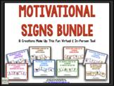 Motivational Signs BUNDLE
