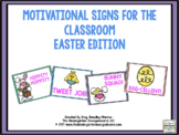 Motivational Signs Easter Theme