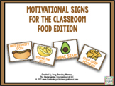 Motivational Signs - Food Theme