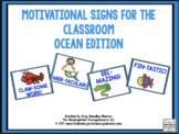 Motivational Signs Ocean Theme