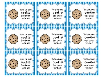 Motivational Snack Tags for Testing