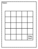 Motivational Sticker Chart