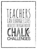 Motivational Teacher quote - classroom poster