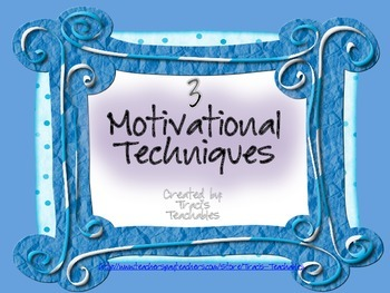 Motivational Techniques