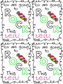 Test Note - Pop Rocks