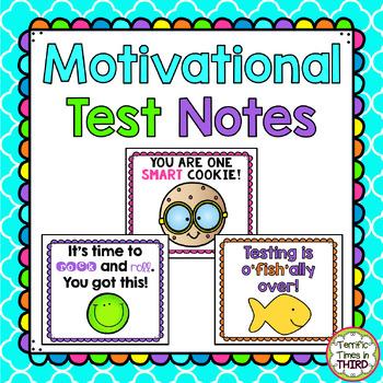 Motivational Test Notes