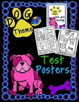 Dog Theme Motivational Posters